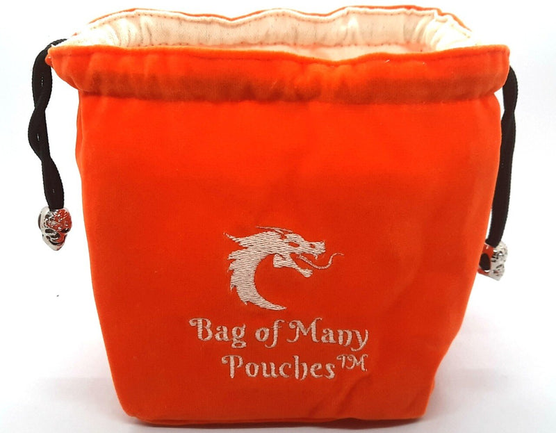Bag of Many Pouches: Orange