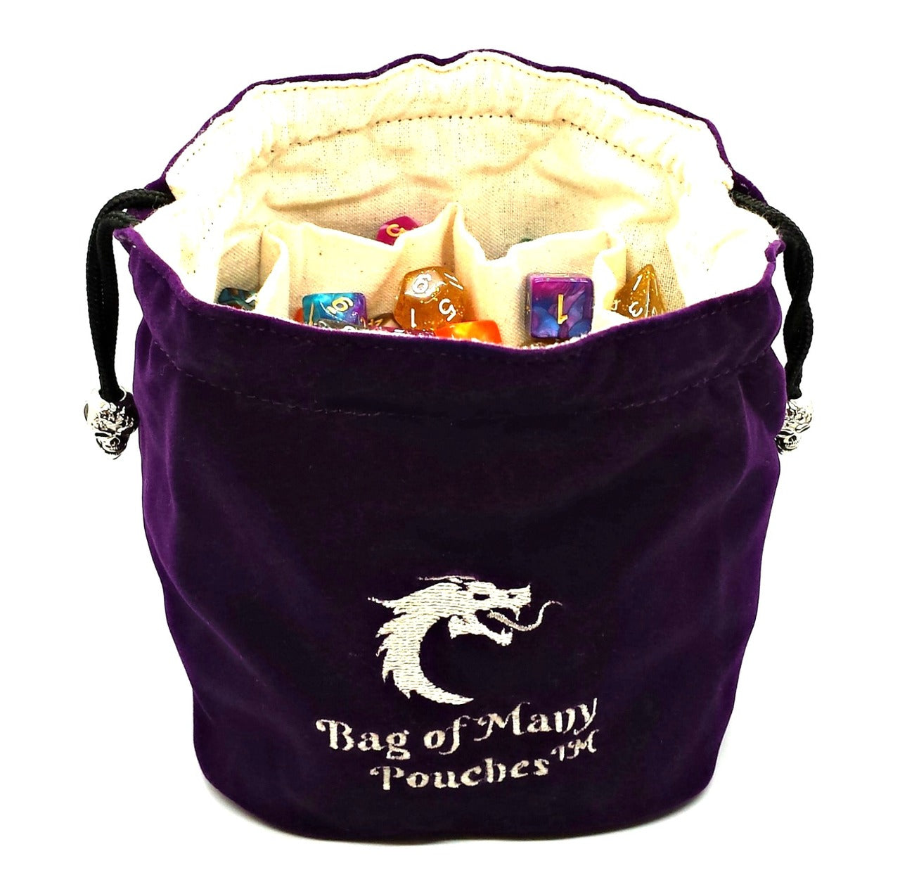 Bag of Many Pouches: Purple