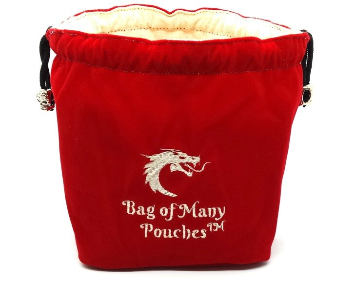 Bag of Many Pouches: Red