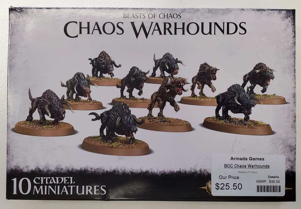 Beasts of Chaos Chaos Warhounds