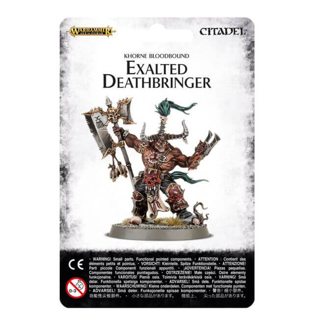 Blades of Khorne Exalted Deathbringer with Ruinous Axe