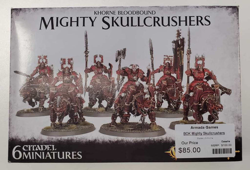 Blades of Khorne Mighty Skullcrushers