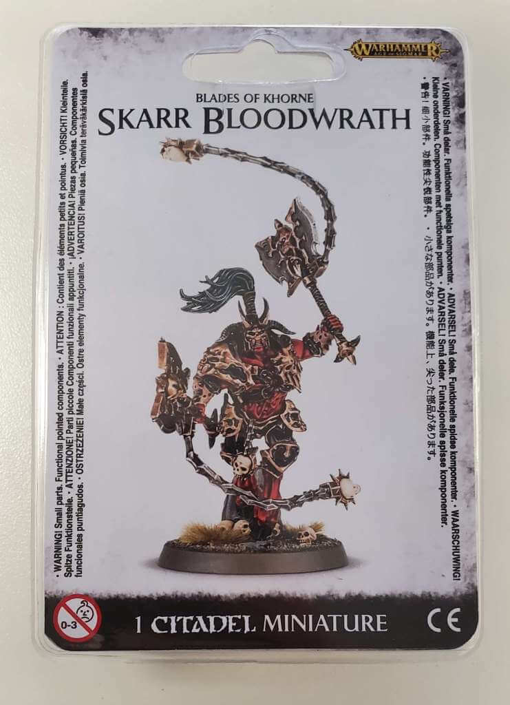 Blades of Khorne Skarr Bloodwrath