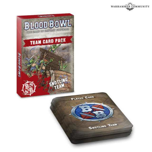 Blood Bowl: Team Card Pack Snotlings Team