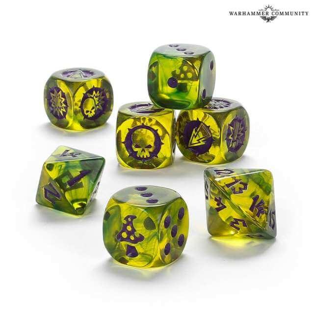 Blood Bowl: Snotling Team Dice Set