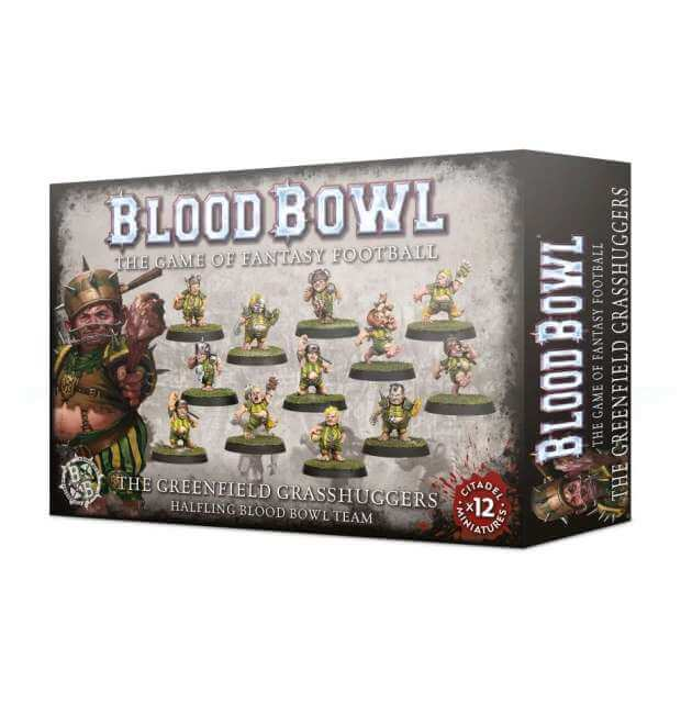 Blood Bowl: The Greenfield Grasshuggers - Halfling Team