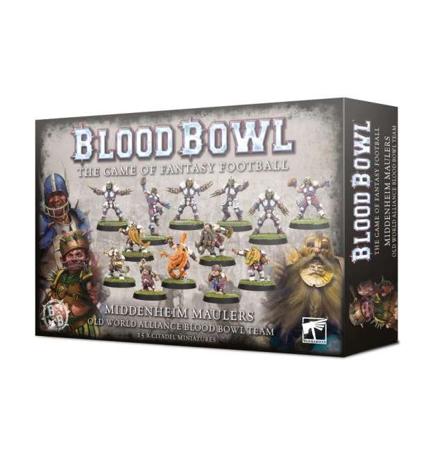 Blood Bowl: The Middenheim Maulers – Old World Alliance Team