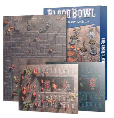 Blood Bowl: Necromantic Horror Team Pitch