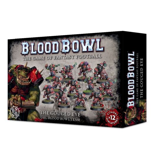 Blood Bowl: The Gouged Eye Orc Team