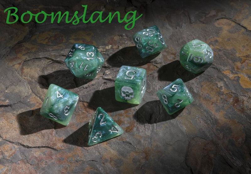 'Spirit of' Deadly Flora & Fauna - Boomslang Polyhedral Dice
