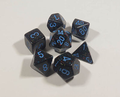 Speckled Blue Stars Polyhedral