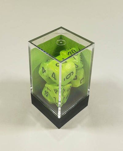 Vortex Bright Green with Black Polyhedral