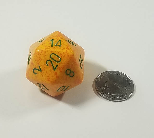 Speckled Lotus 34mm d20