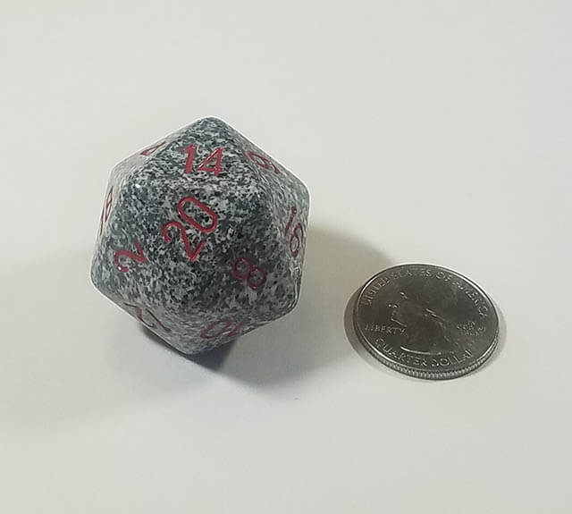 Speckled Granite 34mm d20
