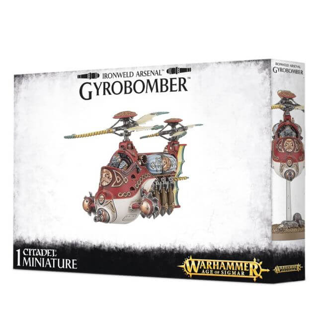 Cities of Sigmar Gyrobomber / Gyrocopter