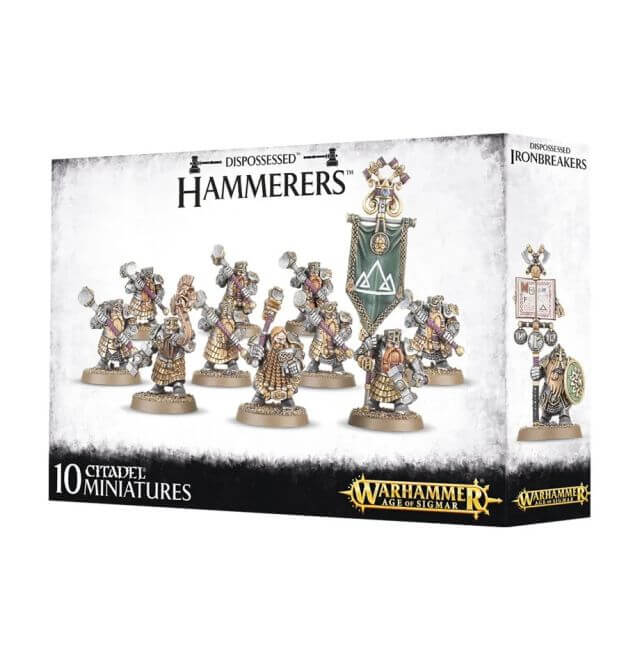 Cities of Sigmar Hammerers / Longbeards