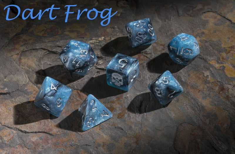 'Spirit of' Deadly Flora & Fauna - Dart Frog Polyhedral Dice