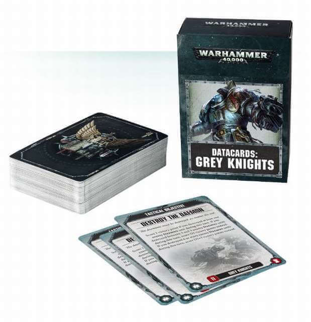 Datacards: Grey Knights 8th Edition