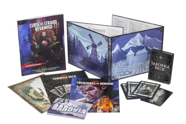D&D 5th Edition Curse of Strahd Revamped