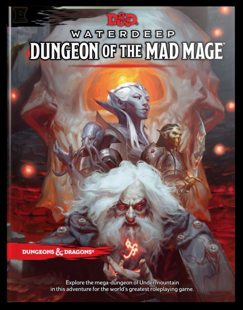 D&D 5th Edition Waterdeep: Dungeon of the Mad Mage
