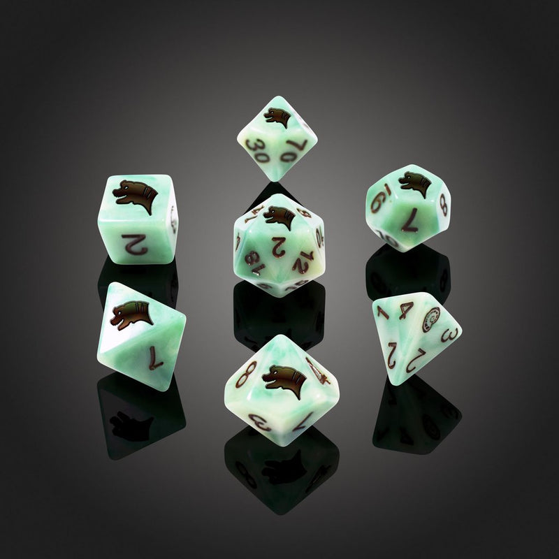 'Spirit of' Extinction - Brachiosurus Polyhedral Dice
