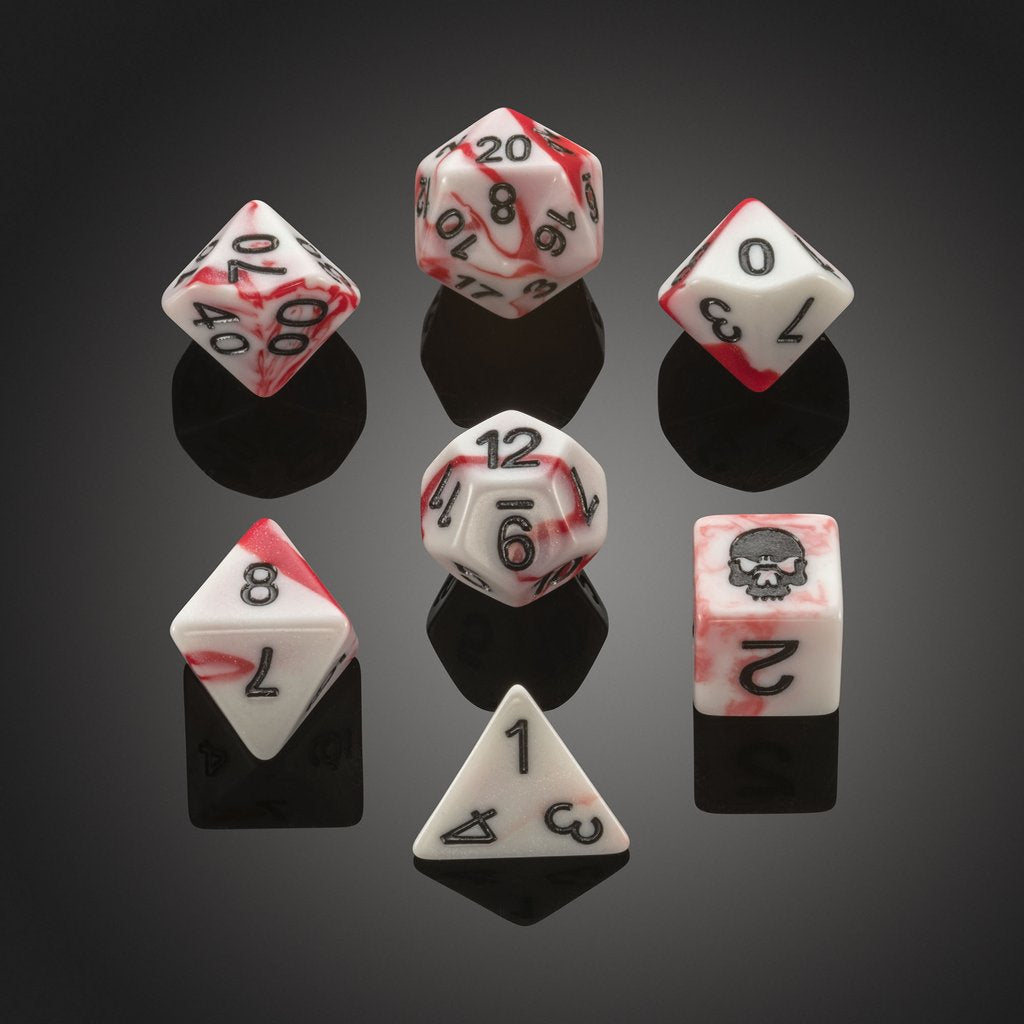 'Spirit of' Deadly Flora & Fauna - Fly Agaric Polyhedral Dice