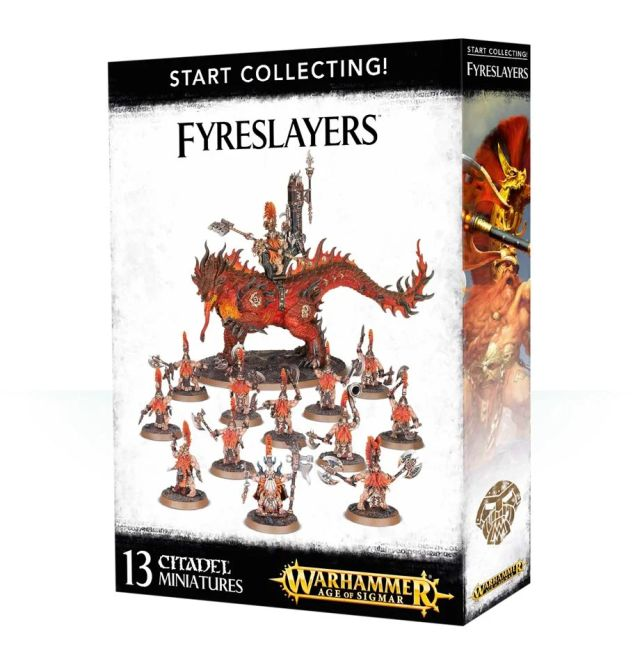 Start Collecting! Fyreslayers / Auric Runefather on Magmadroth