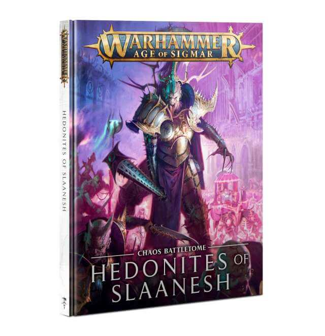 Hedonites of Slaanesh Battletome 2021