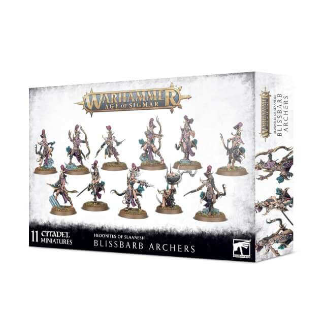 Hedonites of Slaanesh Blissbarb Archers