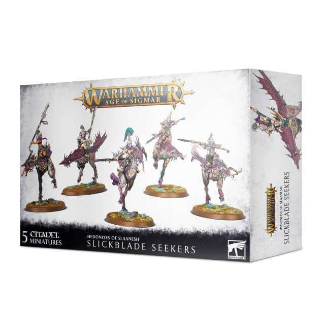 Hedonites of Slaanesh Blissbarb Seekers / Slickblade Seekers
