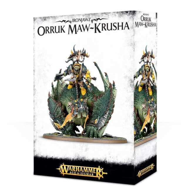 Orruk Warclans Megaboss on Maw-krusha / Gordrakk, Fist of Gork