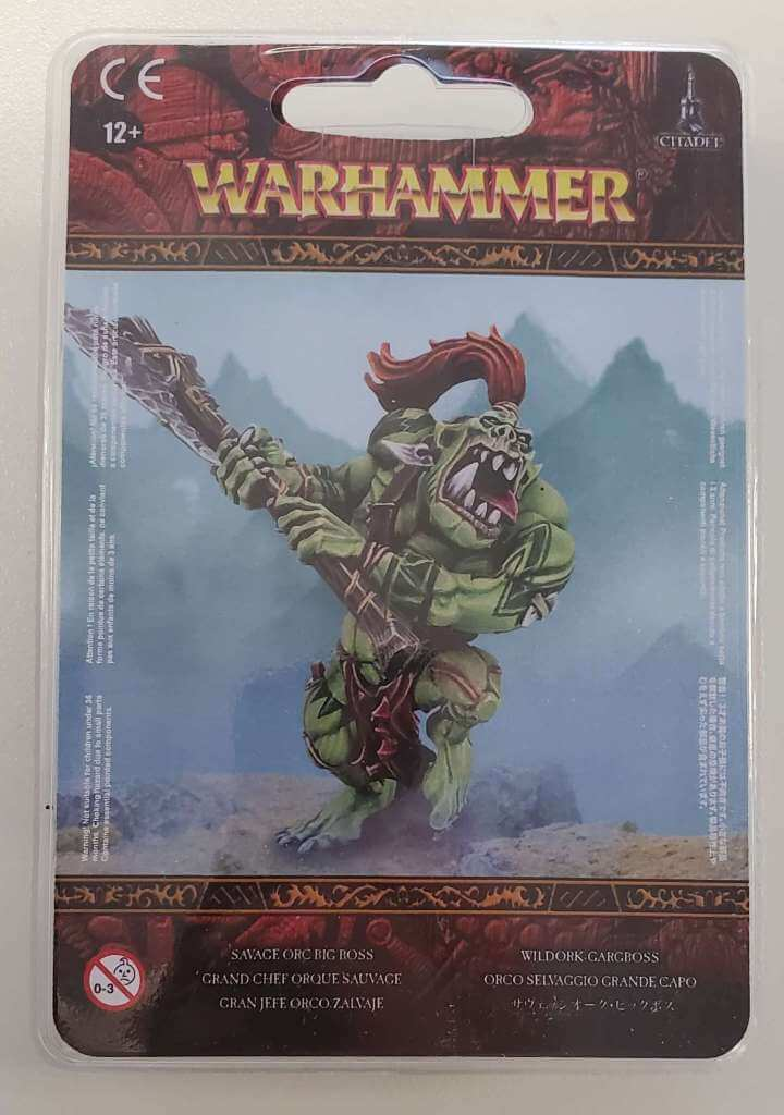 Orruk Warclans Savage Big Boss