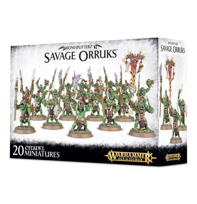 Orruk Warclans Savage Orruk Arrowboys / Morboys