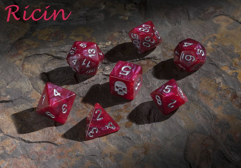 'Spirit of' Deadly Flora & Fauna - Ricin Polyhedral Dice