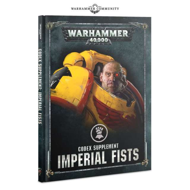 Codex: Imperial Fists 8th Edition Supplement