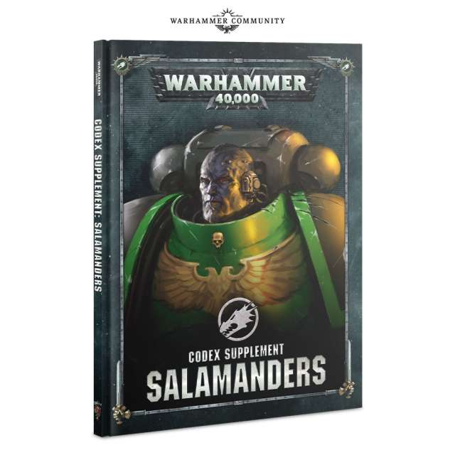 Codex: Salamanders 8th Edition Supplement