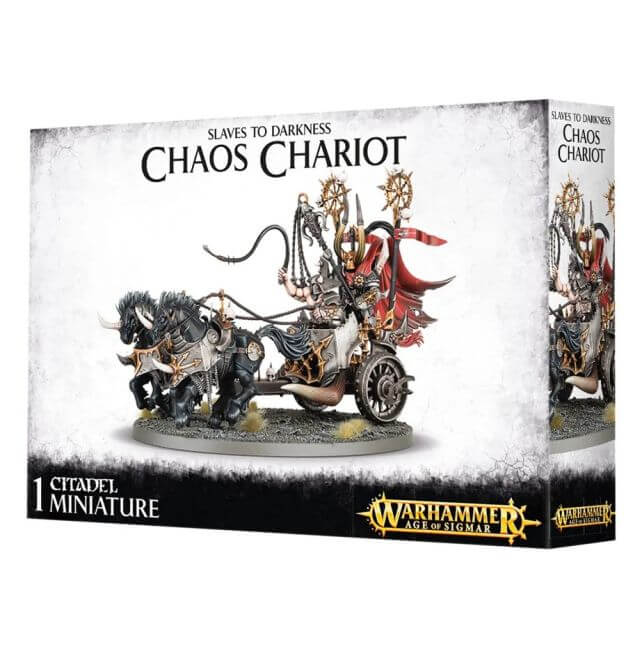 Slaves to Darkness Chaos Chariot / Gorebeast Chariot