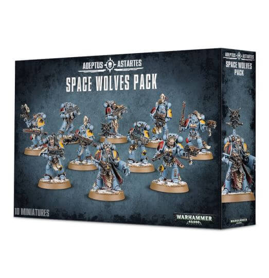 Space Wolves Wolves Pack