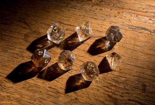 'Spirit of' Bear Polyhedral Dice