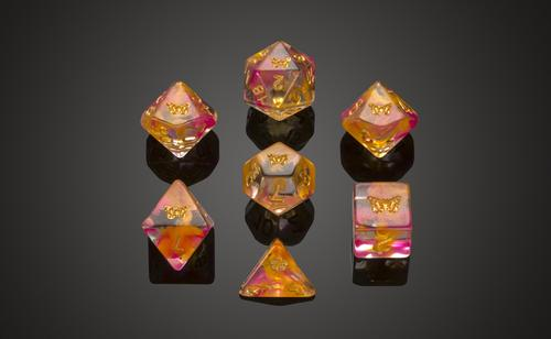 'Spirit of' Butterfly Polyhedral Dice