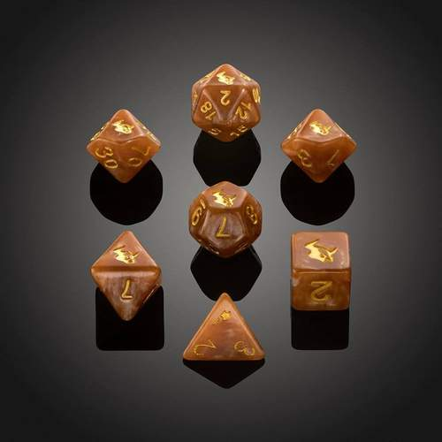 'Spirit of' Desolation - Minotaur Polyhedral Dice