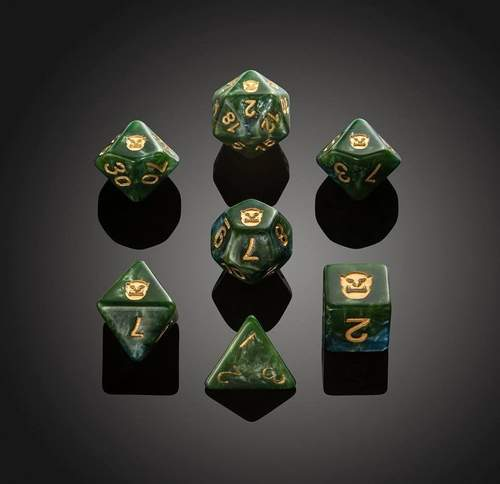 'Spirit of' Desolation - Orc Polyhedral Dice
