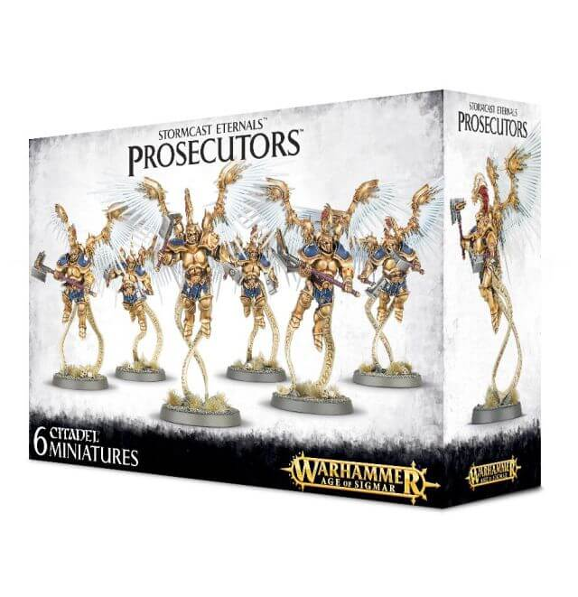 Stormcast Eternals Prosecutors with Celestial Hammers / Stormcall Javelins