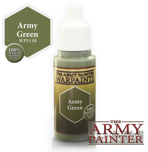 Army Green Acrylic Warpaints