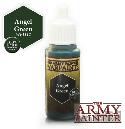 Angel Green Acrylic Warpaints