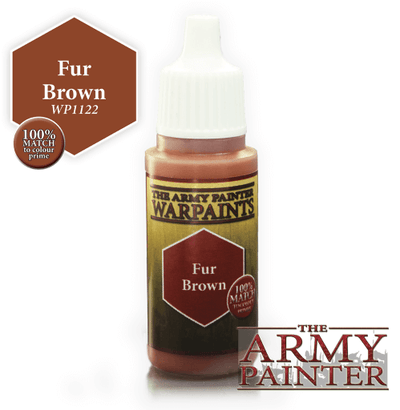 Fur Brown Acrylic Warpaints