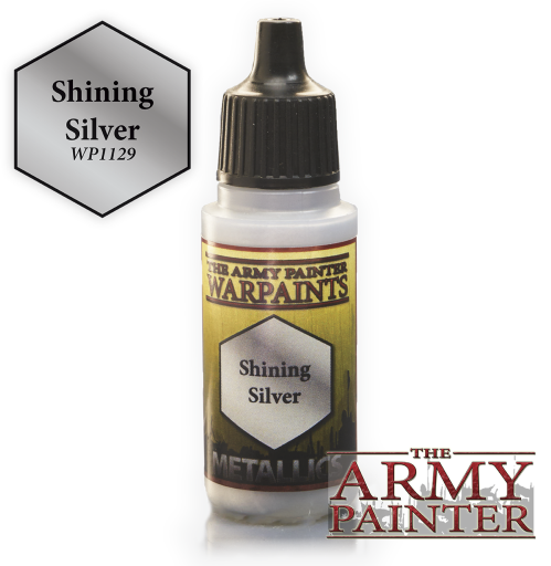Shining Silver Metallic Warpaints