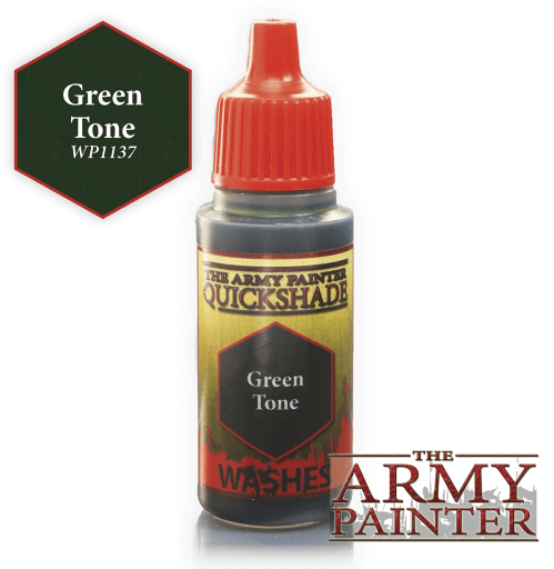 Green Tone Washes Warpaints