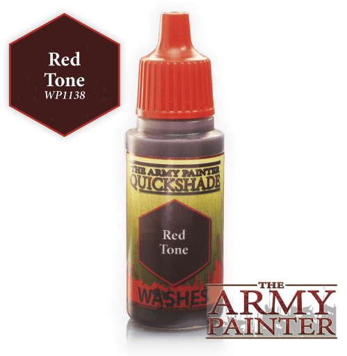 Red Tone Washes Warpaints