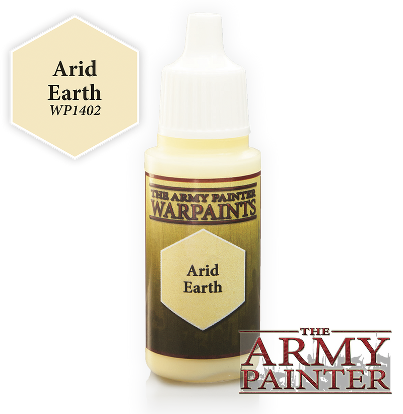 Arid Earth Acrylic Warpaints